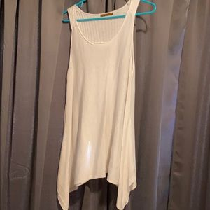 Bellini white knit tank